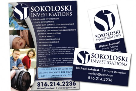 Sokoloski Investigations – Flyer Design