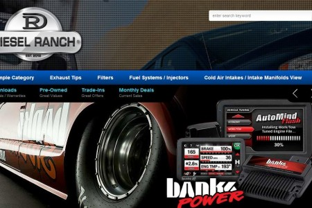 Diesel Ranch eCommerce Web Development