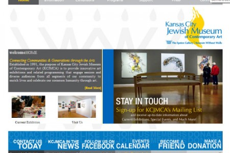 KCJMCA – Custom Website Design