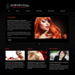Health and Beauty Website – Aestheticology